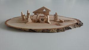 Crèche en bois