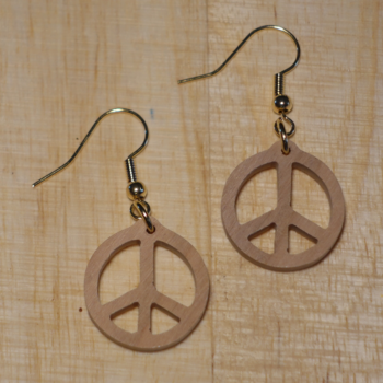 Boucles D'oreilles PEACE AND LOVE